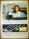 1941     1847 Rogers Bros with Barbars Stanwyck