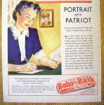 Click to view larger image of 1943 Curtiss Baby Ruth with Woman Writing Soldier (Image2)