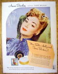 Click to view larger image of 1944 Max Factor with Anne Shirley (Image1)