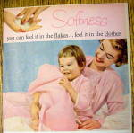 Click to view larger image of 1959 Ivory Flakes with Woman & Baby with Blanket (Image2)