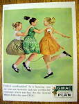 Click to view larger image of 1961 GMAC Payment Plan with Girls Jumping Rope (Image1)