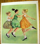 Click to view larger image of 1961 GMAC Payment Plan with Girls Jumping Rope (Image2)