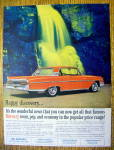 1961 Mercury with the Monterey By A Waterfall