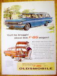 1961 Oldsmobile with the F-85 Station Wagon