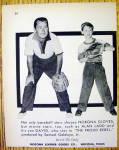 Click to view larger image of 1958 Nokona Baseball Gloves w/Alan Ladd & Son, David (Image2)