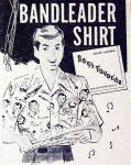 Click to view larger image of 1949 Bandleader Shirts with a Boy Wearing the Shirt (Image3)