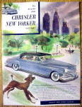 1950 Chrysler New Yorker Newport with Poodle
