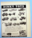 1957 Dinky Toys with Different Cars & Trucks