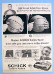 1960 Schick Safety Razor with Basketball's Bud Palmer