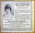 Click to view larger image of 1913 Mrs. Gervaise Graham with Let Us Dress Your Hair (Image1)