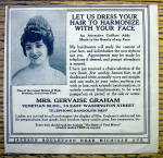 Click to view larger image of 1913 Mrs. Gervaise Graham with Let Us Dress Your Hair (Image2)