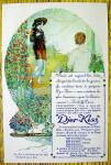 Click to view larger image of 1910 Djer Kiss Perfume with Two Women (Image2)