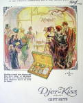 Click to view larger image of 1924 Djer-Kiss Kerkoff Gift Sets w/Holiday Crowds (Image2)