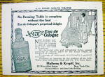 1928 No.4711 Eau De Cologne w/ Woman