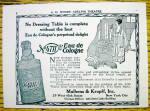 Click to view larger image of 1928 No.4711 Eau De Cologne w/ Woman (Image1)