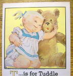 Click to view larger image of 1960 Carter Two-Piece Topper Set w/ Little Girl & Bear (Image2)