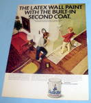 1966 Dutch Boy Nalplex Paint w/ Woman Painting