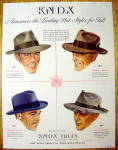 Click to view larger image of 1941 Knox Hats with Fifth Avenue, Vagabond & More (Image1)