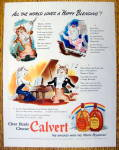 Click to view larger image of 1942 Calvert Whiskey with Thomas & Felice the Cats (Image1)