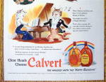 Click to view larger image of 1942 Calvert Whiskey with Thomas & Felice the Cats (Image3)