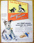 Click to view larger image of 1942 American Brakeblok Brake Lining w/ Stopper the Dog (Image1)