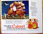 Click to view larger image of 1942 Calvert Whiskey with Horace & Hazel Hippo (Image3)