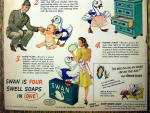 Click to view larger image of 1944 Swan Soap with 4 Swell Ways to Use Swan (Image3)
