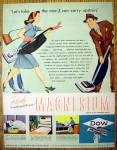 1946 Dow Magnesium with Man & Woman And Vacuums