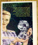 Click to view larger image of 1946 Cory All Glass Coffee Brewer w/Woman Holding Pot (Image2)