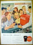 Click to view larger image of 1947 Coca Cola (Coke) w/ Group of Children (Image1)