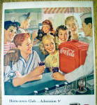 Click to view larger image of 1947 Coca Cola (Coke) w/ Group of Children (Image2)