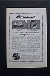 Click here to enlarge image and see more about item 1636: Vintage Ad: 1920 Brunswick Records