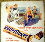 Click to view larger image of 1948 Butterfinger w/ two Boys Running (Image2)