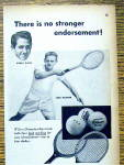 Click to view larger image of 1948 Wilson Tennis Rackets & Balls w/Riggs and Kramer (Image2)