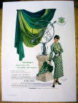 1948 Foreman Fabric w/ Matching Dress and Umbrella
