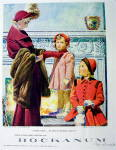 Click to view larger image of 1948 Hockanum Woolens w/ Woman and 2 Girls (Image2)