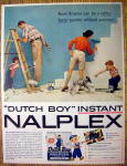 Click to view larger image of 1957 Dutch Boy Nalplex Paint with Family (Image1)