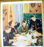 Click to view larger image of 1958 Coca Cola (Coke) with Boy Scouts Around A Table (Image2)