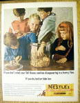 Click to view larger image of 1964 Nestle Chocolate Morsels w/Kids & Cookies (Image1)