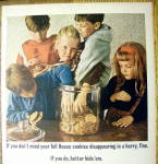 Click to view larger image of 1964 Nestle Chocolate Morsels w/Kids & Cookies (Image2)