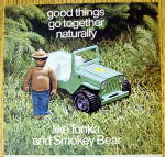 Click to view larger image of 1972 Smokey Bear Play Sets By Tonka w/Bear & Jeep (Image2)