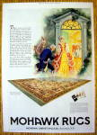 Click to view larger image of 1927 Mohawk Rugs & Carpets with Colonial Couple (Image1)
