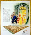 Click to view larger image of 1927 Mohawk Rugs & Carpets with Colonial Couple (Image2)