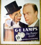 Click to view larger image of 1946 G E Lamps w/Edgar Bergen & Charlie McCarthy (Image2)