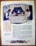 1926 Delco Light Company with Family at Thanksgiving