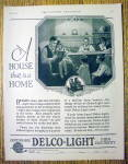 Click to view larger image of 1926 Delco Light Company with Family Around The Table (Image1)