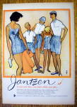 1959 Jantzen Sportswear With Travelers