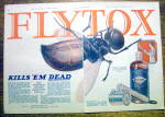 1925 Fly-Tox with Giant Fly & Spray