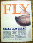 Click to view larger image of 1925 Fly-Tox with Giant Fly & Spray (Image2)