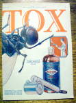 Click to view larger image of 1925 Fly-Tox with Giant Fly & Spray (Image3)